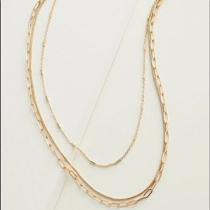 Elizabeth and James Layered Necklace